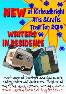 Kirkcudbright Arts and Craft Trail writers in residence